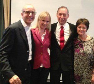 Linzi and Paul McKenna, Dr Ron Ruden & Deborah Tom